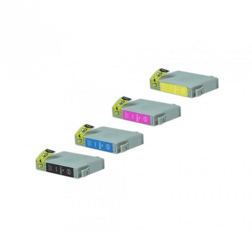 EPSON T0715 / MULTIPACK / 5 CARTUCHOS DE TINTA COMPATIBLE