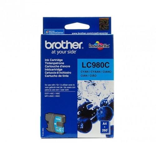 BROTHER LC980 / COLOR CYAN / CARTUCHO DE TINTA ORIGINAL