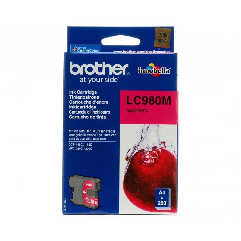 BROTHER LC980 / COLOR MAGENTA / CARTUCHO DE TINTA ORIGINAL