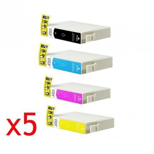 EPSON T1636 / MULTIPACK / 5 CARTUCHOS DE TINTA COMPATIBLE C13T16364010
