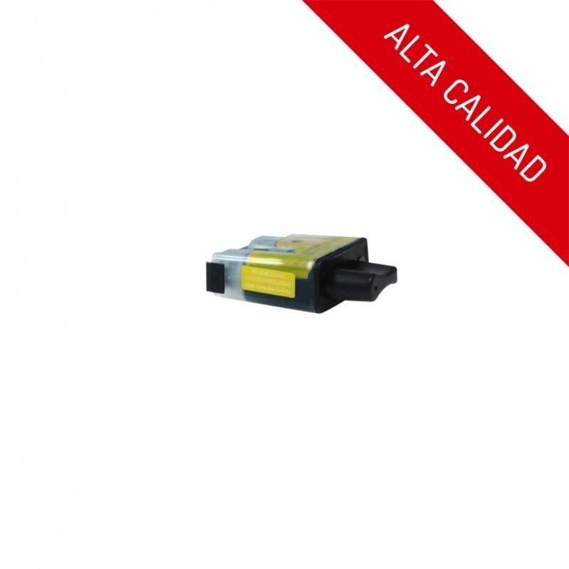 ALTA CALIDAD / BROTHER LC900 / COLOR AMARILLO / CARTUCHO DE TINTA COMPATIBLE