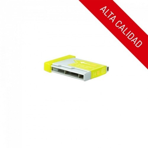 ALTA CALIDAD / BROTHER LC1000 / LC970 / COLOR AMARILLO / CARTUCHO DE TINTA COMPATIBLE