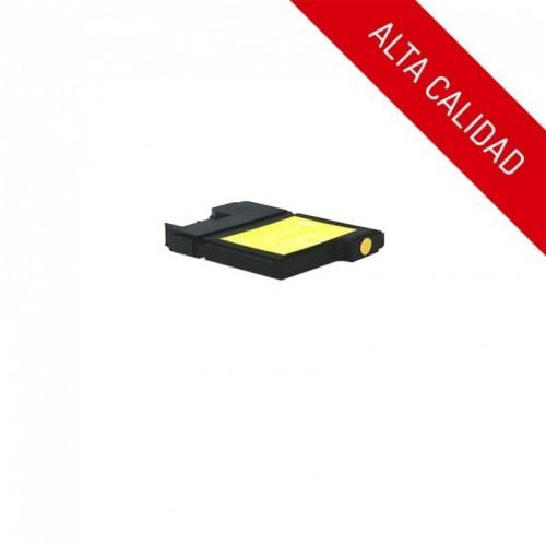 ALTA CALIDAD / BROTHER LC980 / LC1100 / COLOR AMARILLO / CARTUCHO DE TINTA COMPATIBLE