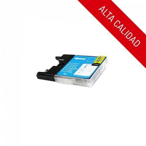 ALTA CALIDAD / BROTHER LC1220 / LC1240 / COLOR CYAN / CARTUCHO DE TINTA COMPATIBLE